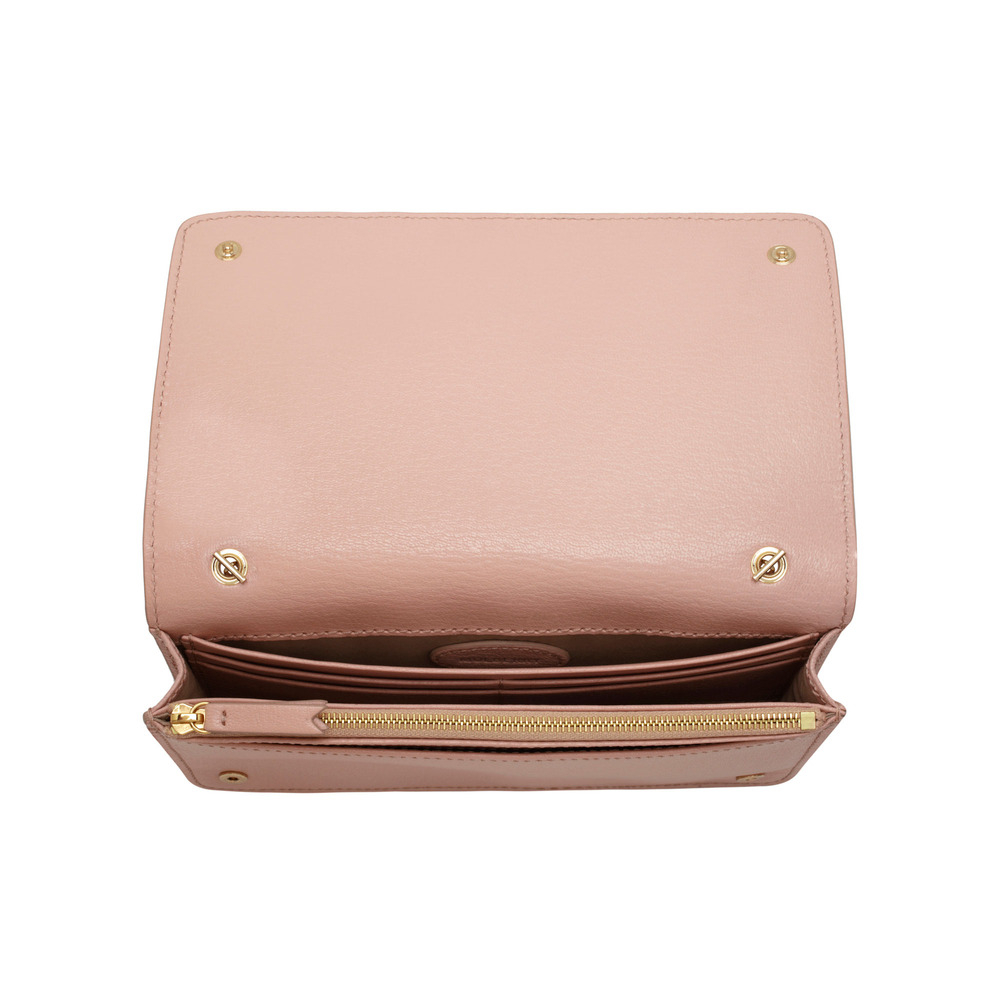 f890d6435e Lyst - Mulberry Bow Clutch Wallet in Pink