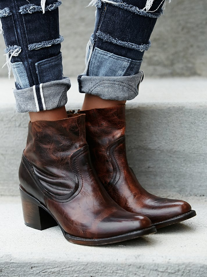Lyst Freebird By Steven Womens Salt Ankle Boot In Brown