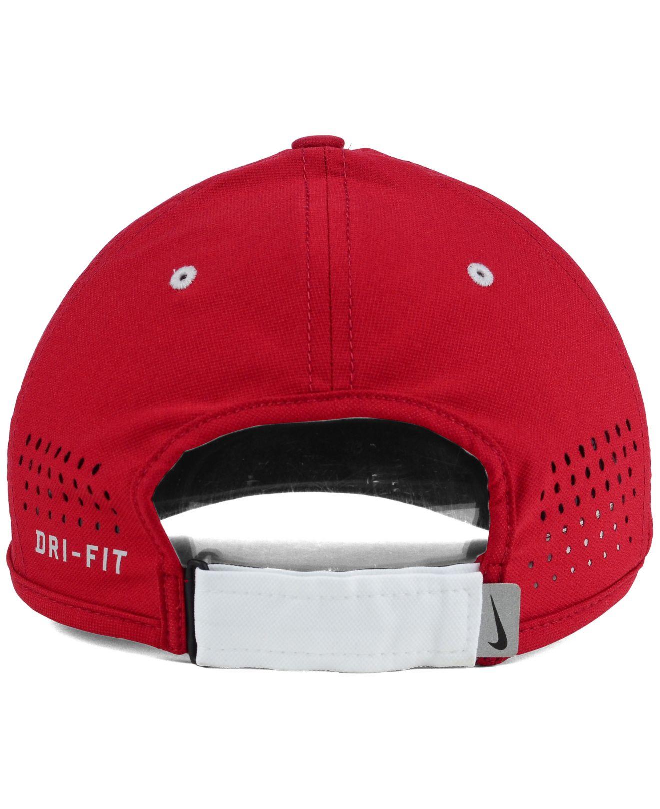 promo code f36a9 d4079 ... where to buy lyst nike alabama crimson tide coaches dri fit cap in red  for men