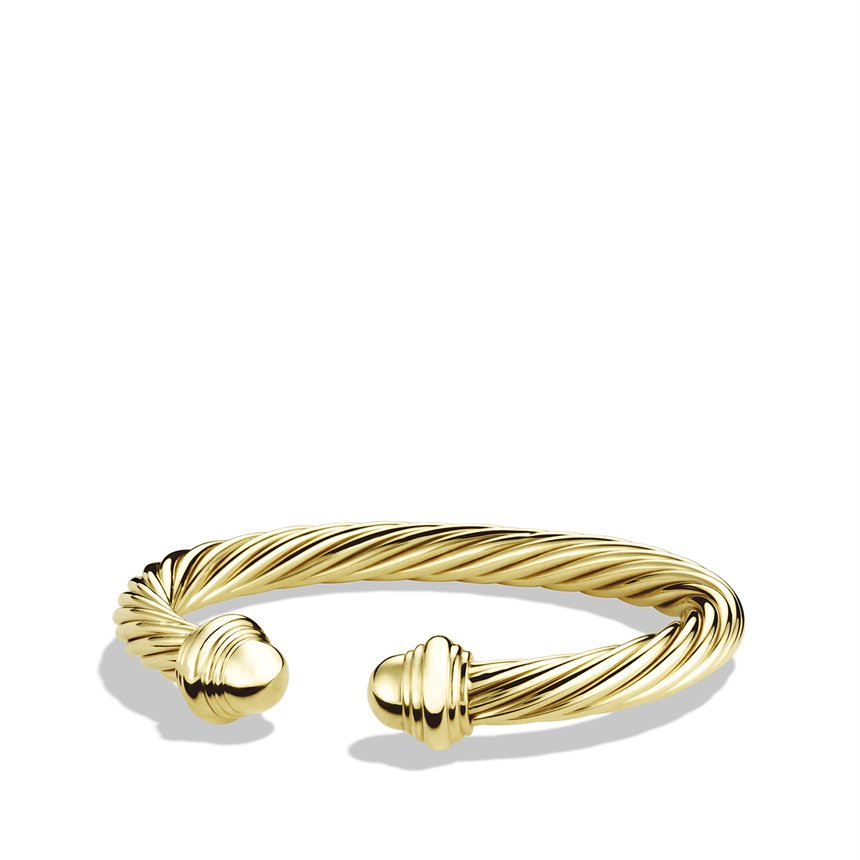 David Yurman Cable Classics Bracelet With Black Onyx And
