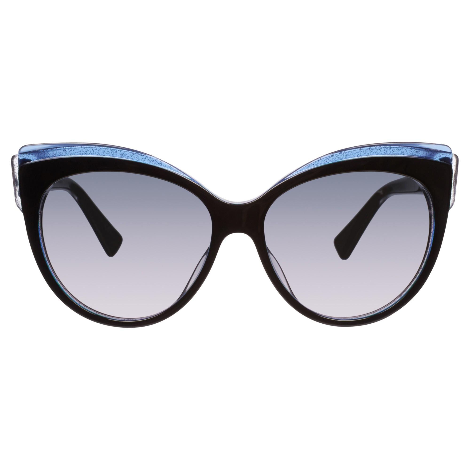 Dior Glisten 1 Cats Eye Plastic Frame Sunglasses in Black ...
