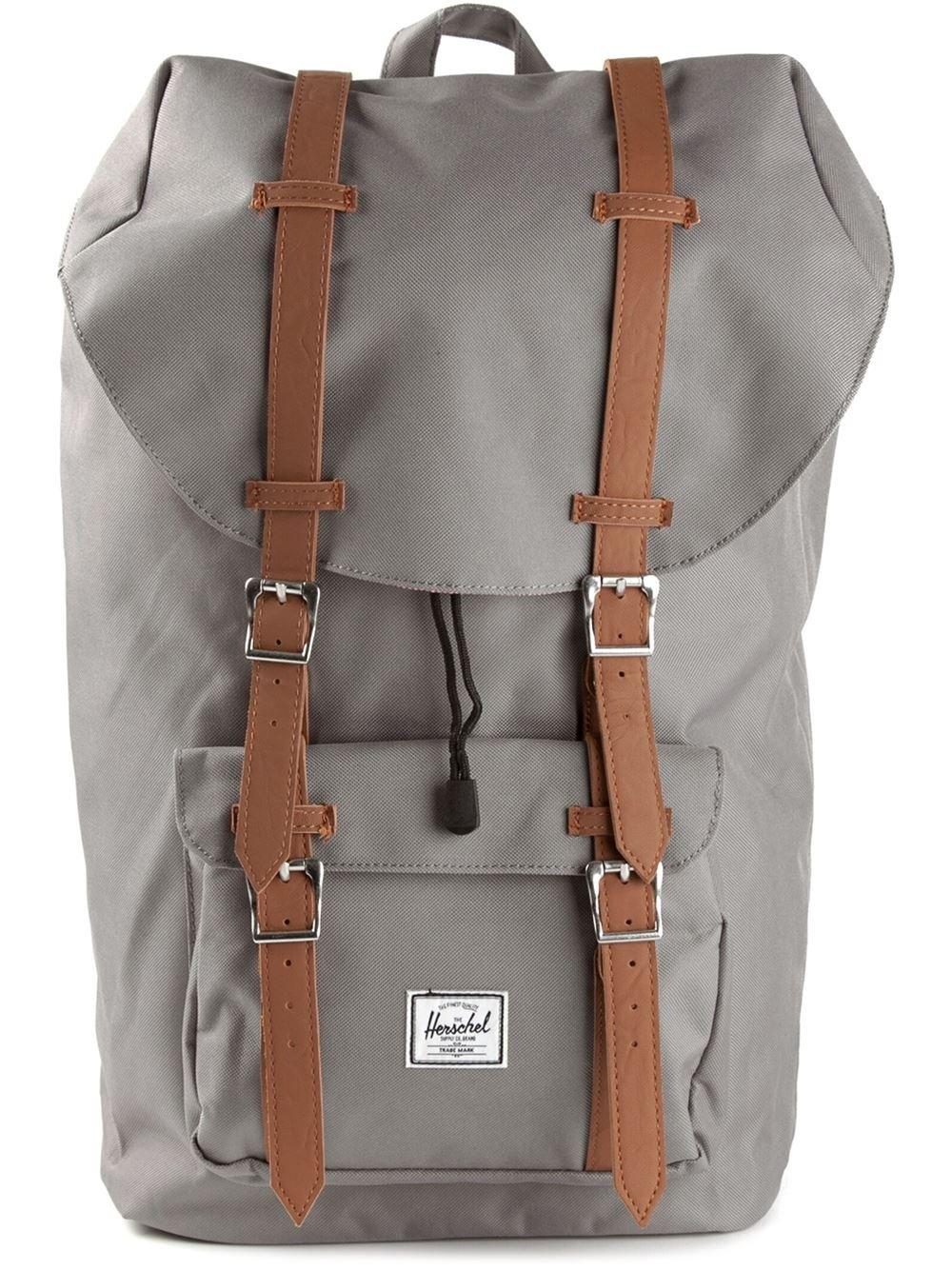 Lyst - Herschel Supply Co. Little America Backpack in Gray for Men 9e4f0820f3