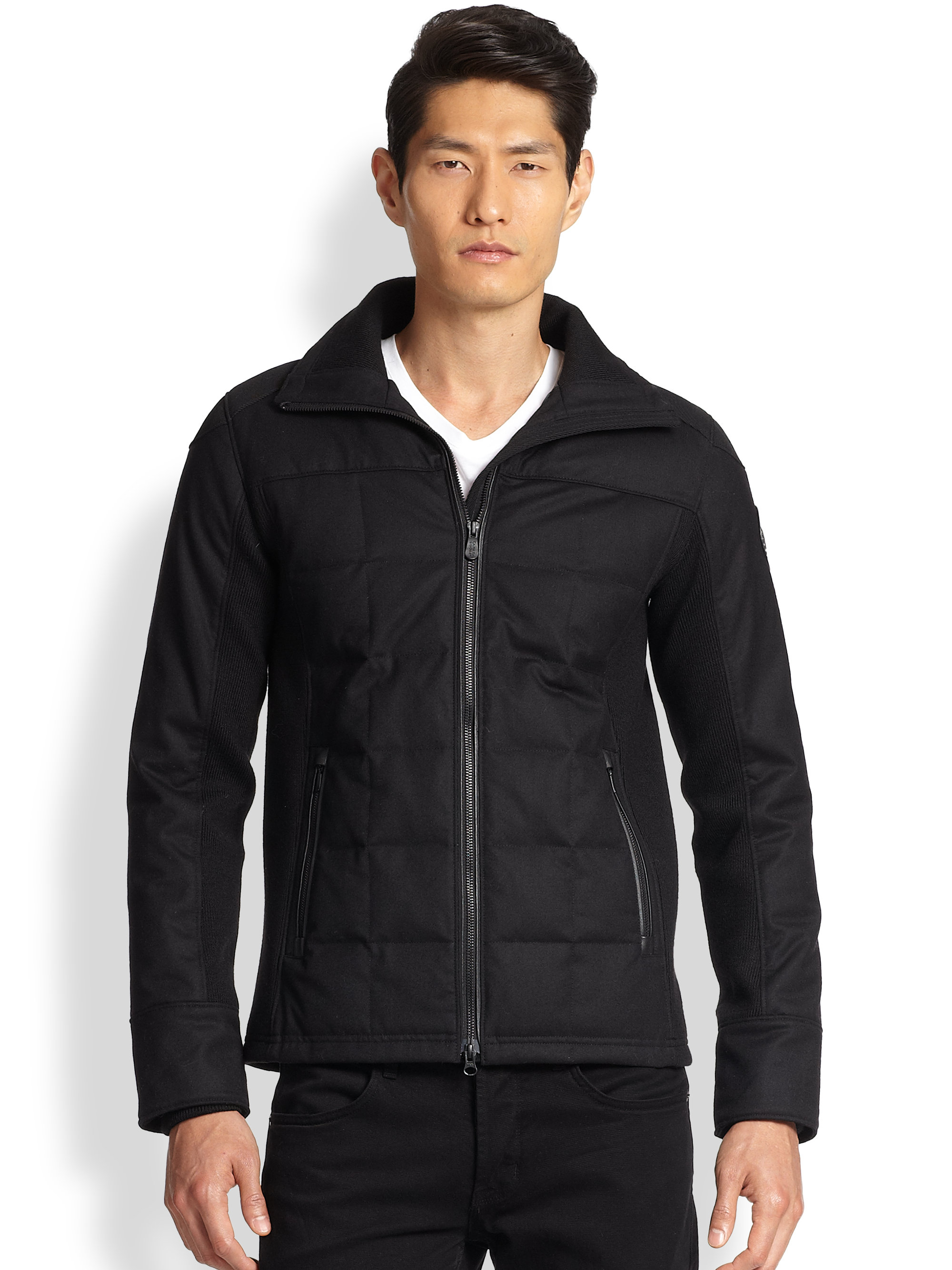 Lyst Canada Goose Branta Stirling Shell Jacket In Black