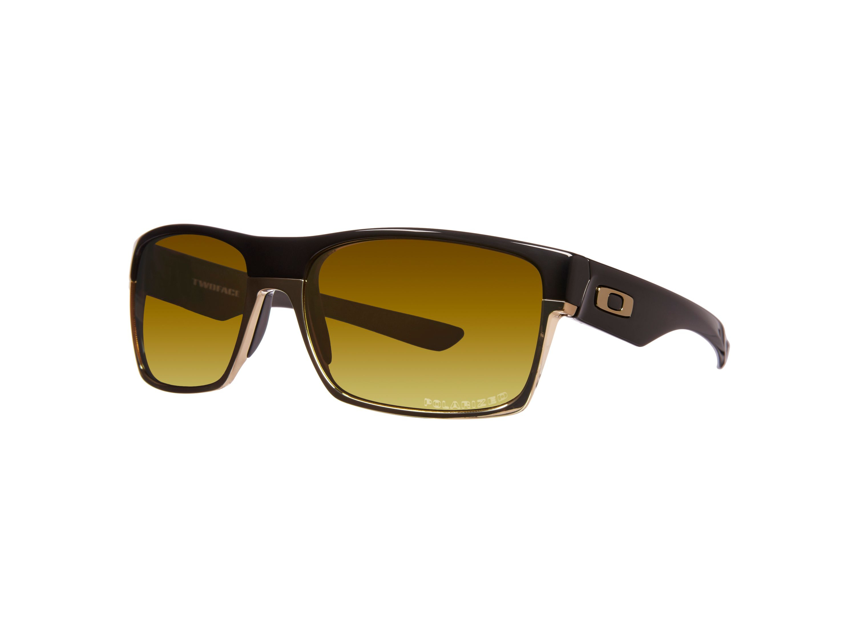 Oakley Men`s 24k Iridium Polarized Square Sunglasses in ...