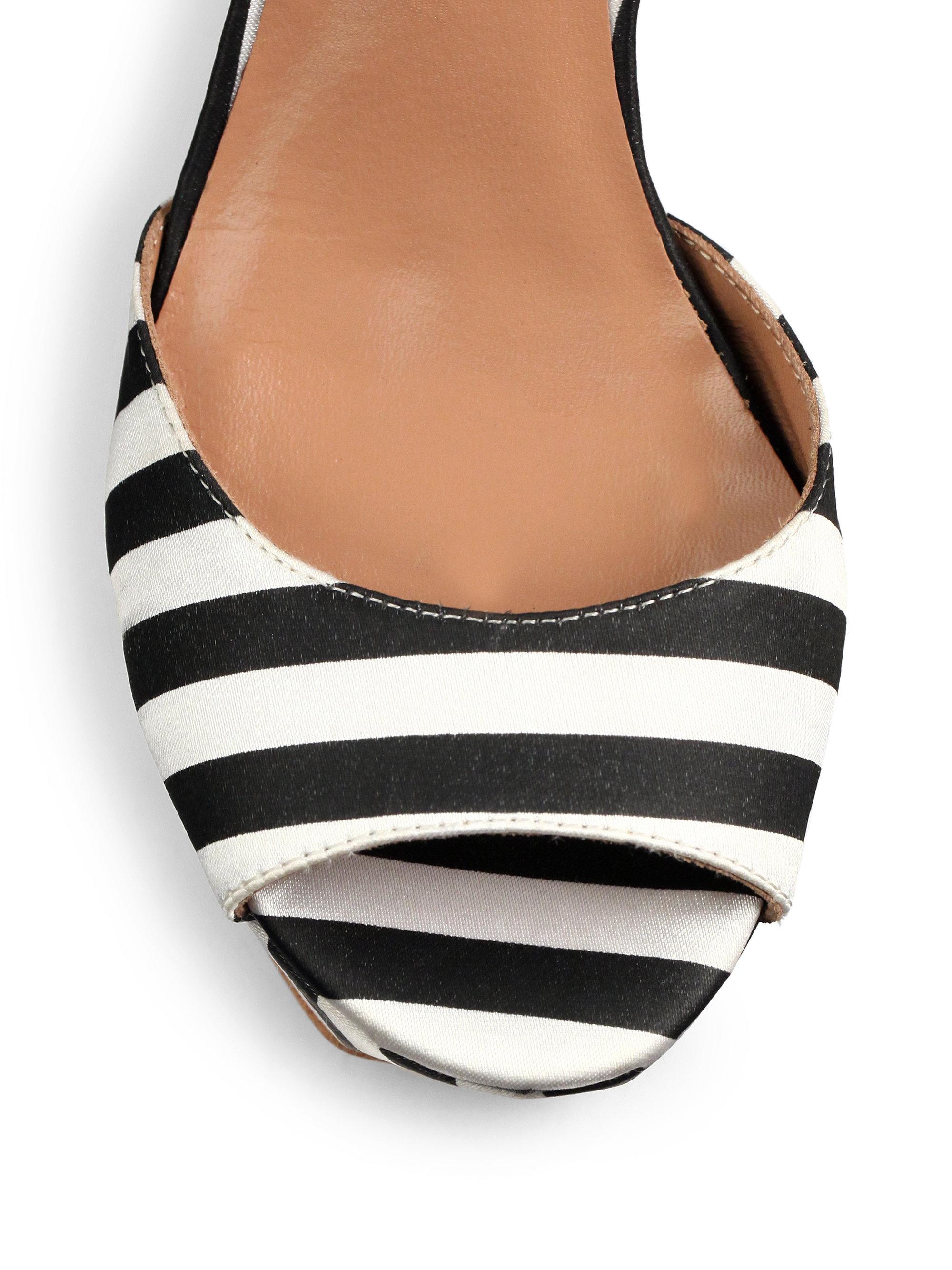 Moschino Striped sandals VrSkuOSX