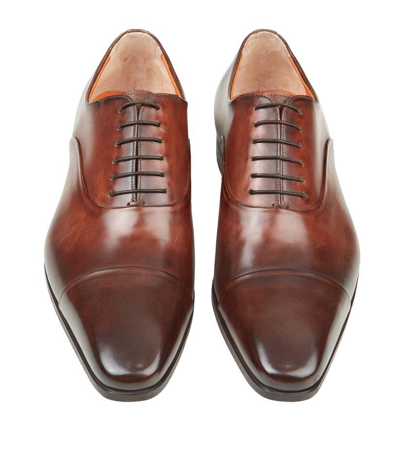 Santoni Chaussures Oxford Occasionnels - Marron pdF8AM