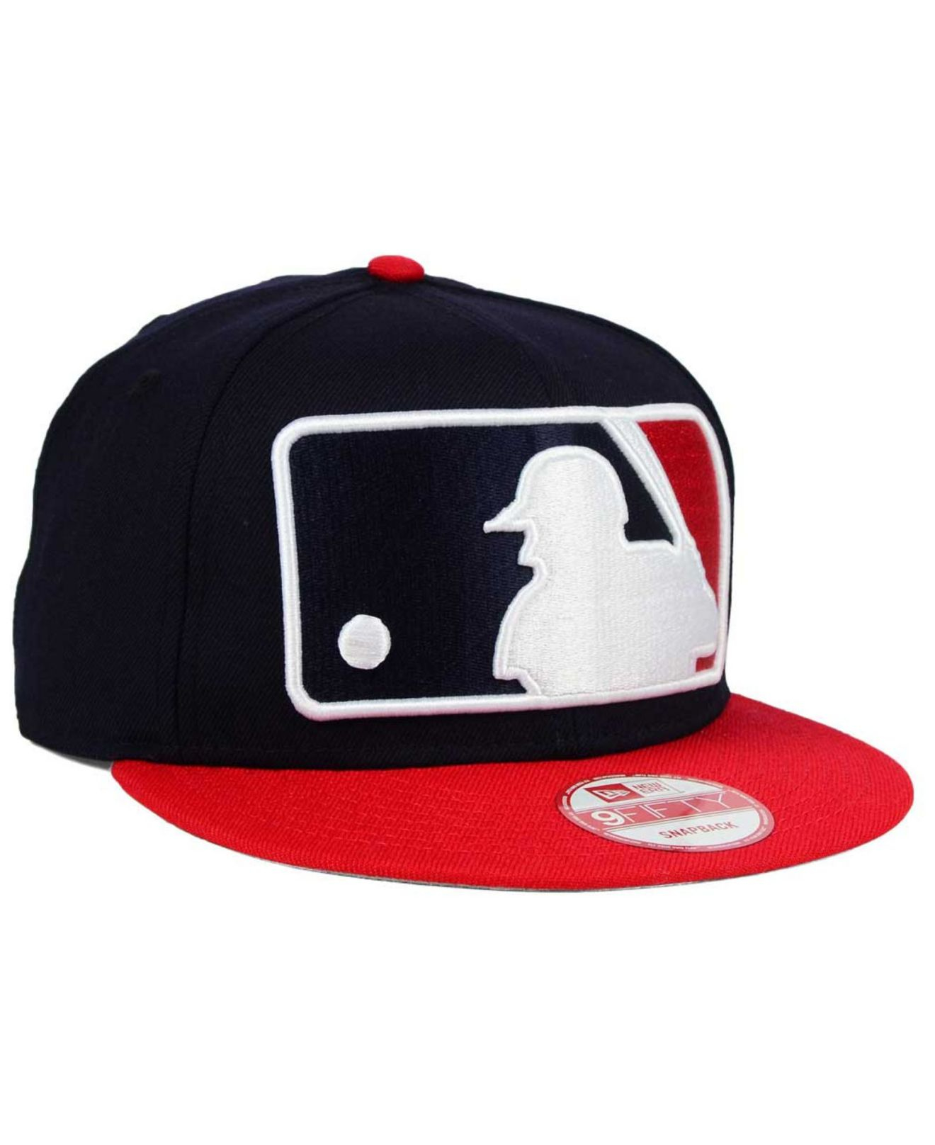 eb86ad9e9ca Lyst - KTZ Cleveland Indians Logo Man 9fifty Snapback Cap in Red for Men