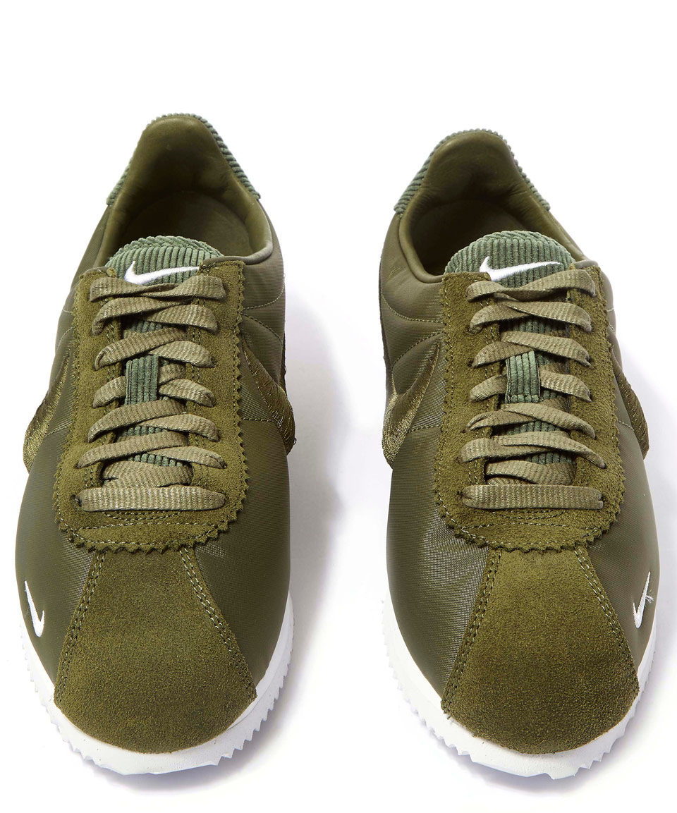 cc87305cf46c Lyst - Nike Olive Classic Cortez Trainers in Green