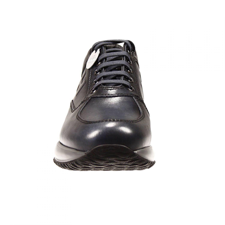 6da1981c4a Hogan Sneakers Interactive H Bombata Vitello Palmellato in Black for ...