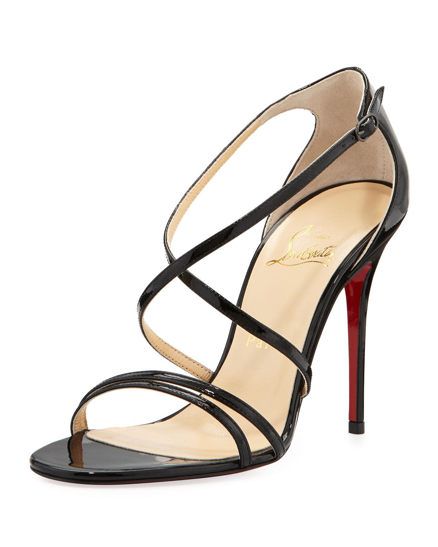 sneakers fake - christian louboutin snakeskin platform sandals Green and brown ...