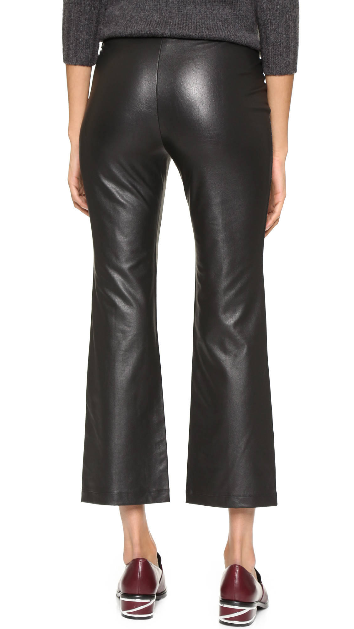 b899c8e45c102b Gallery. Previously sold at: Shopbop · Women's Black Leather Pants Women's  Faux ...