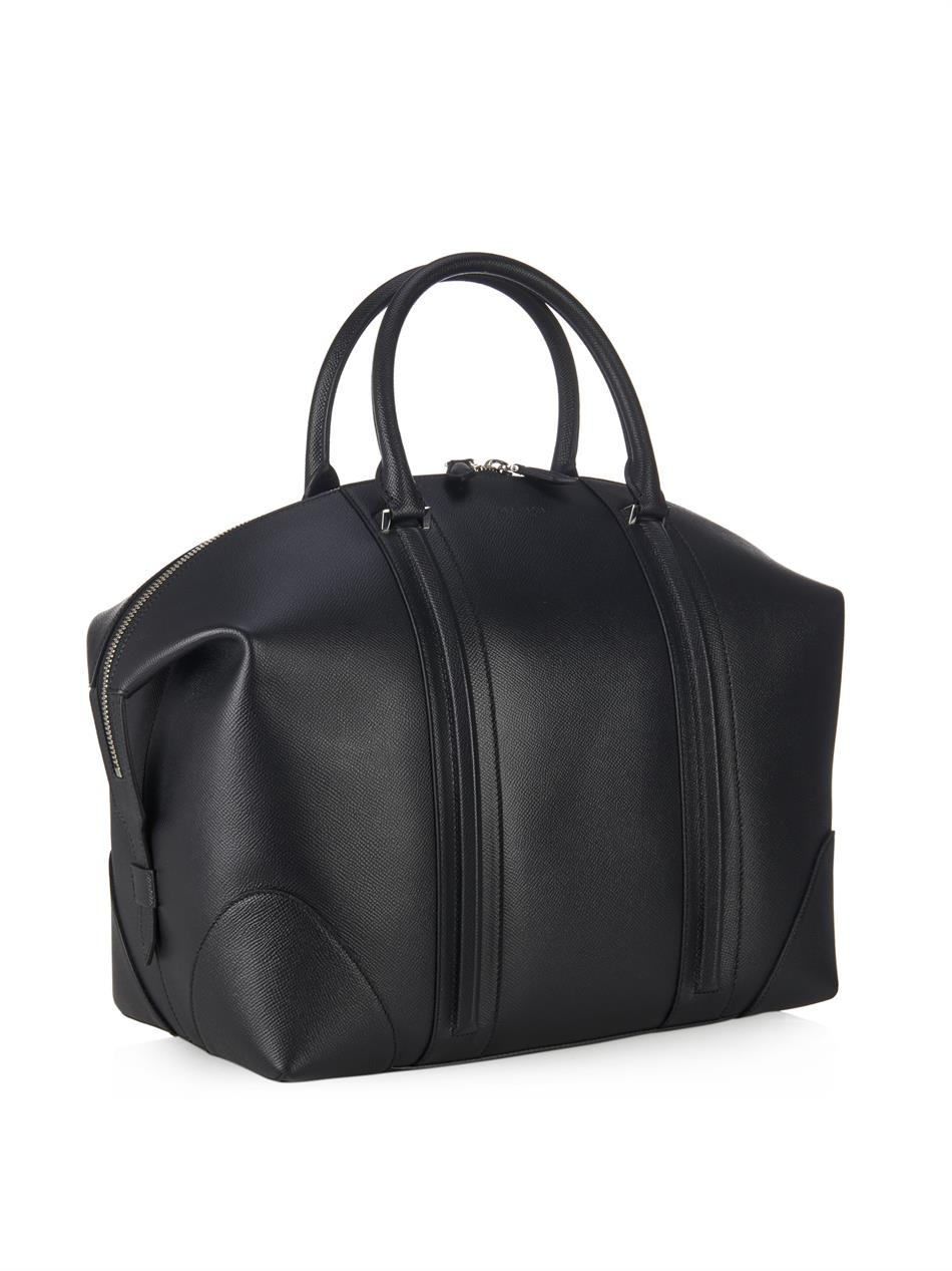 a9aaff50c348 Lyst - Givenchy Lc Leather Weekend Bag in Black for Men