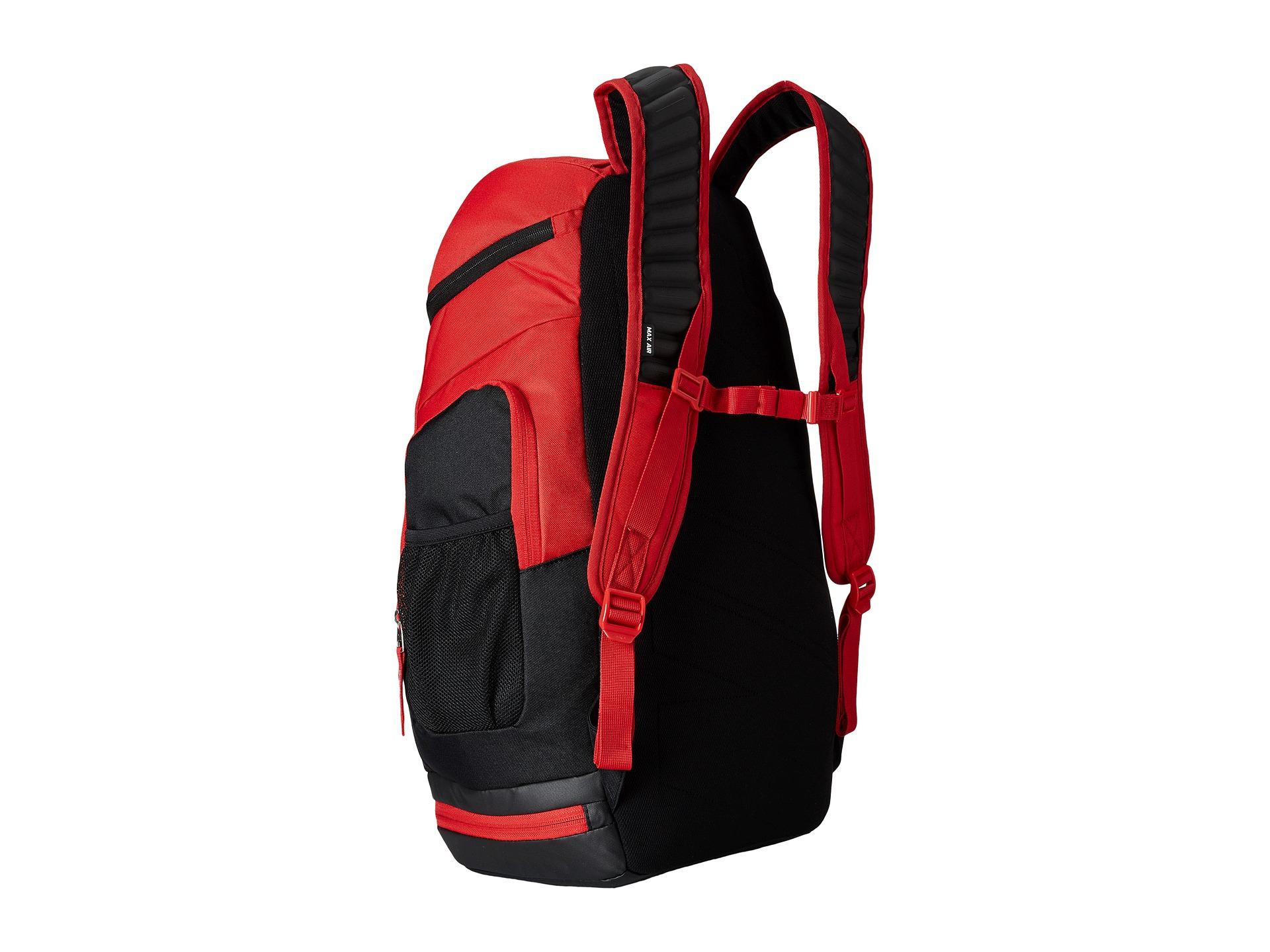 8661131505f0 Red Nike Basketball Backpack- Fenix Toulouse Handball