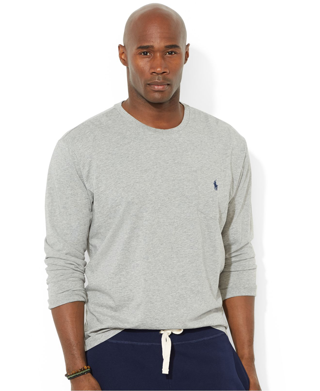 Lyst Polo Ralph Lauren Big And Tall Crew Neck Pocket T