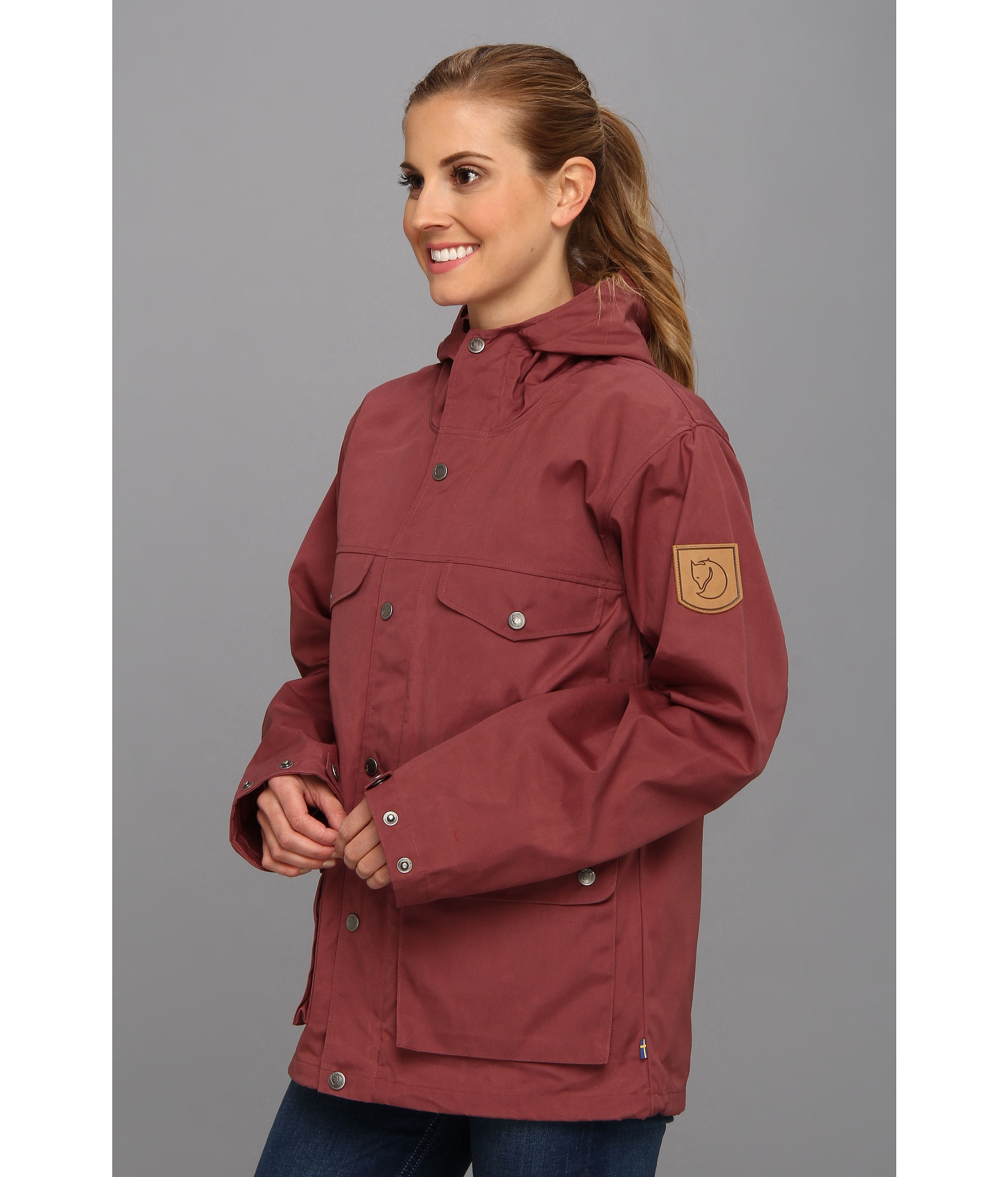 Lyst Fjallraven Greenland Jacket In Red