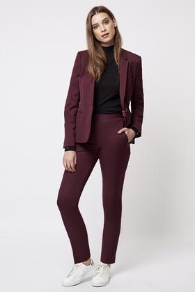 Elegant  Suit NEW Burgundy Red Women39s Size 16P Petite Pencil Skirt Suit Set