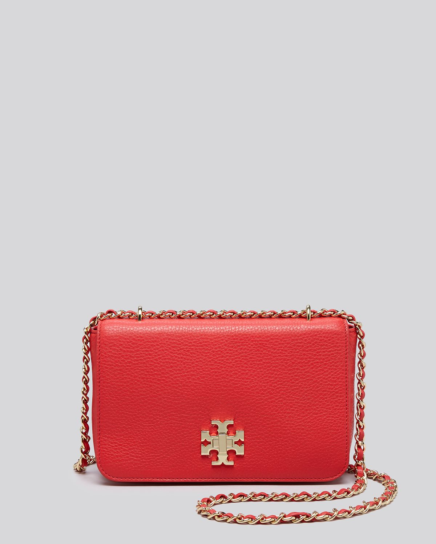 3388507ffeaf Lyst - Tory Burch Shoulder Bag - Mercer Adjustable in Red