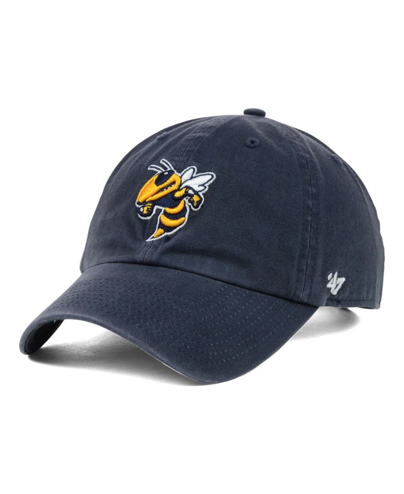 huge selection of e95f7 1e657 47 Brand Georgia Tech Yellow Jackets Clean-Up Cap in Blue for Men - Lyst