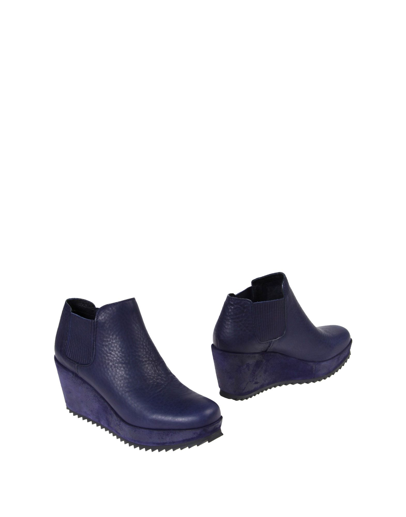 pedro garcia ankle boots in black purple lyst