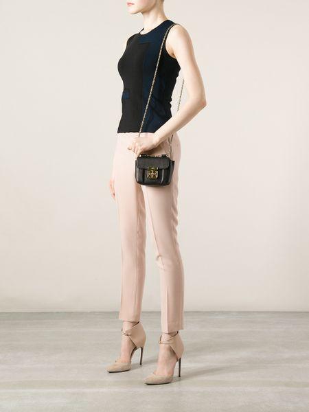 Chloe Elsie Small Leather Shoulder Bag \u2013 Shoulder Travel Bag
