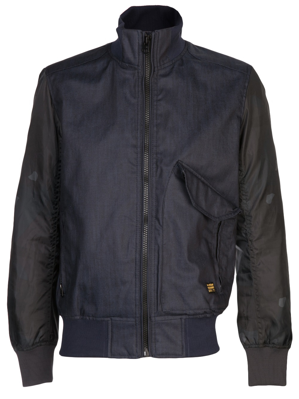 g star raw bomber jacket in blue for men lyst. Black Bedroom Furniture Sets. Home Design Ideas