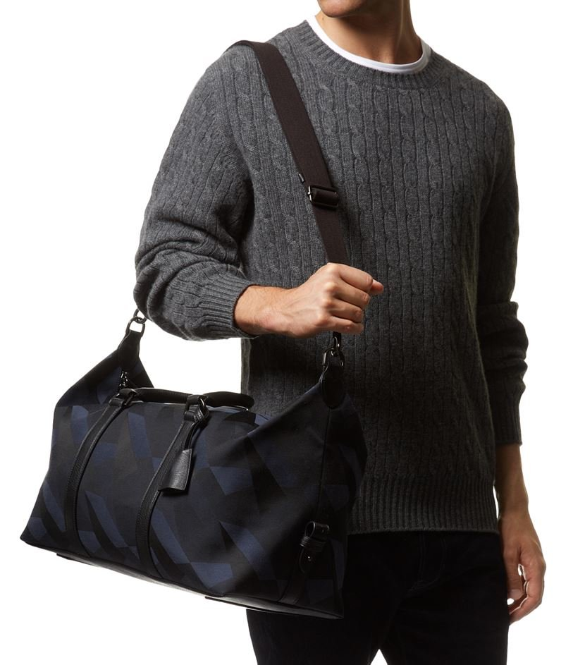 c8e28d36fe1 ... where can i buy mulberry camo canvas clipper bag in blue for men lyst  b39ef 7dd61