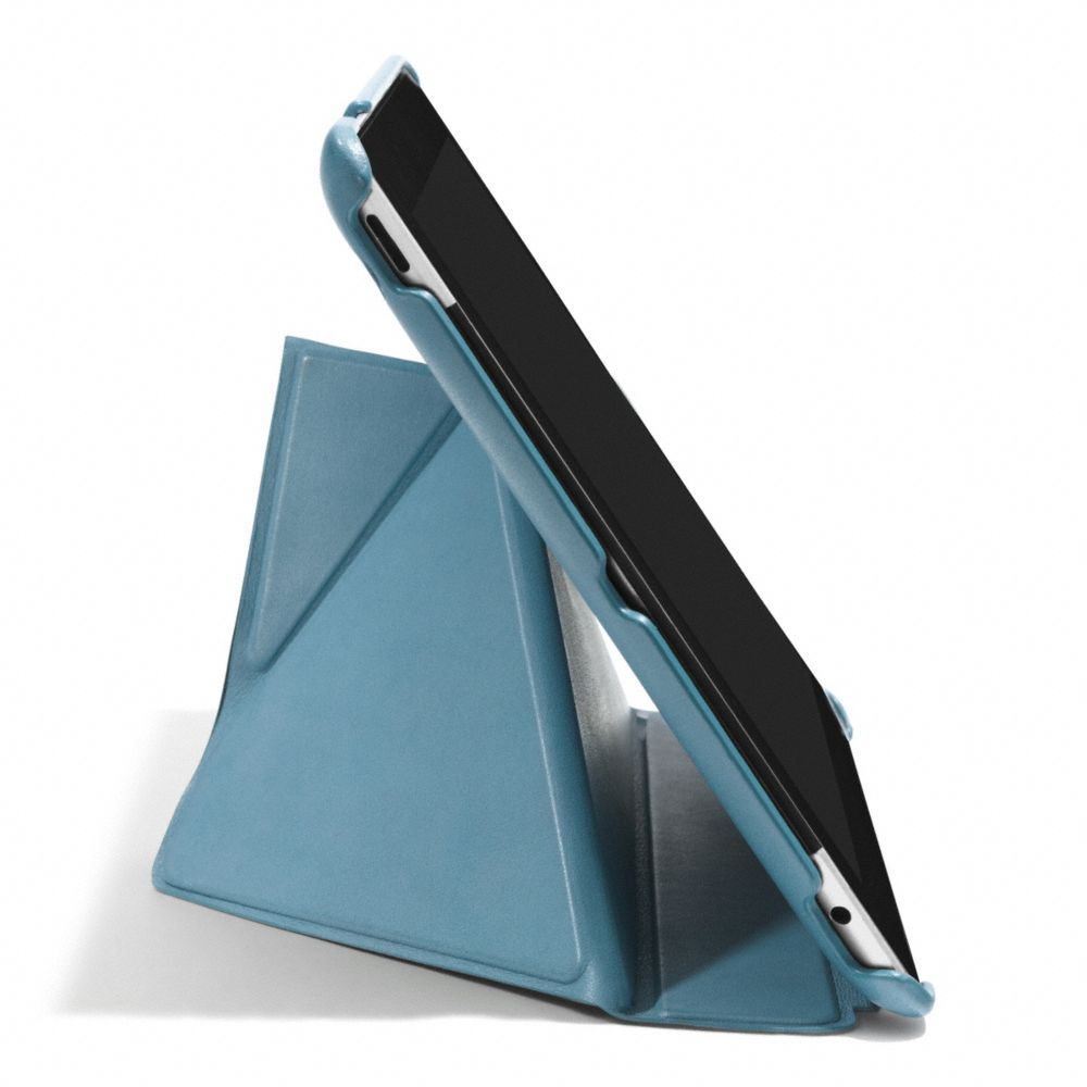 Lyst Coach Bleecker Leather Origami Ipad 5 Case In Black For Men