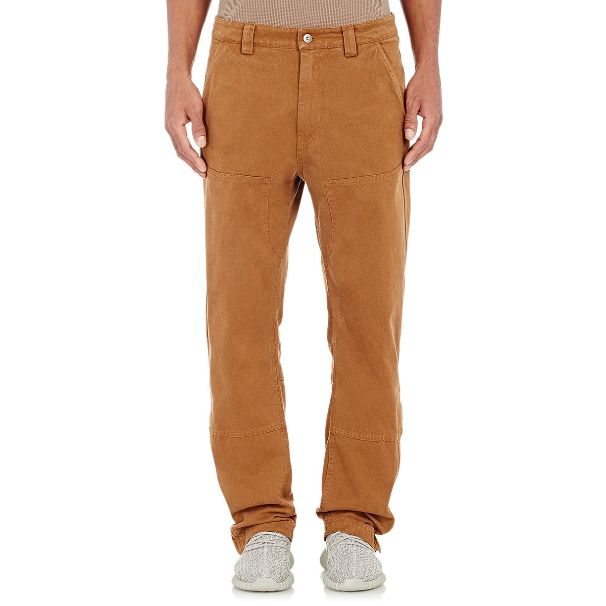 51ae6ae3a55b9 Lyst - Yeezy Twill Worker Pants in Natural for Men