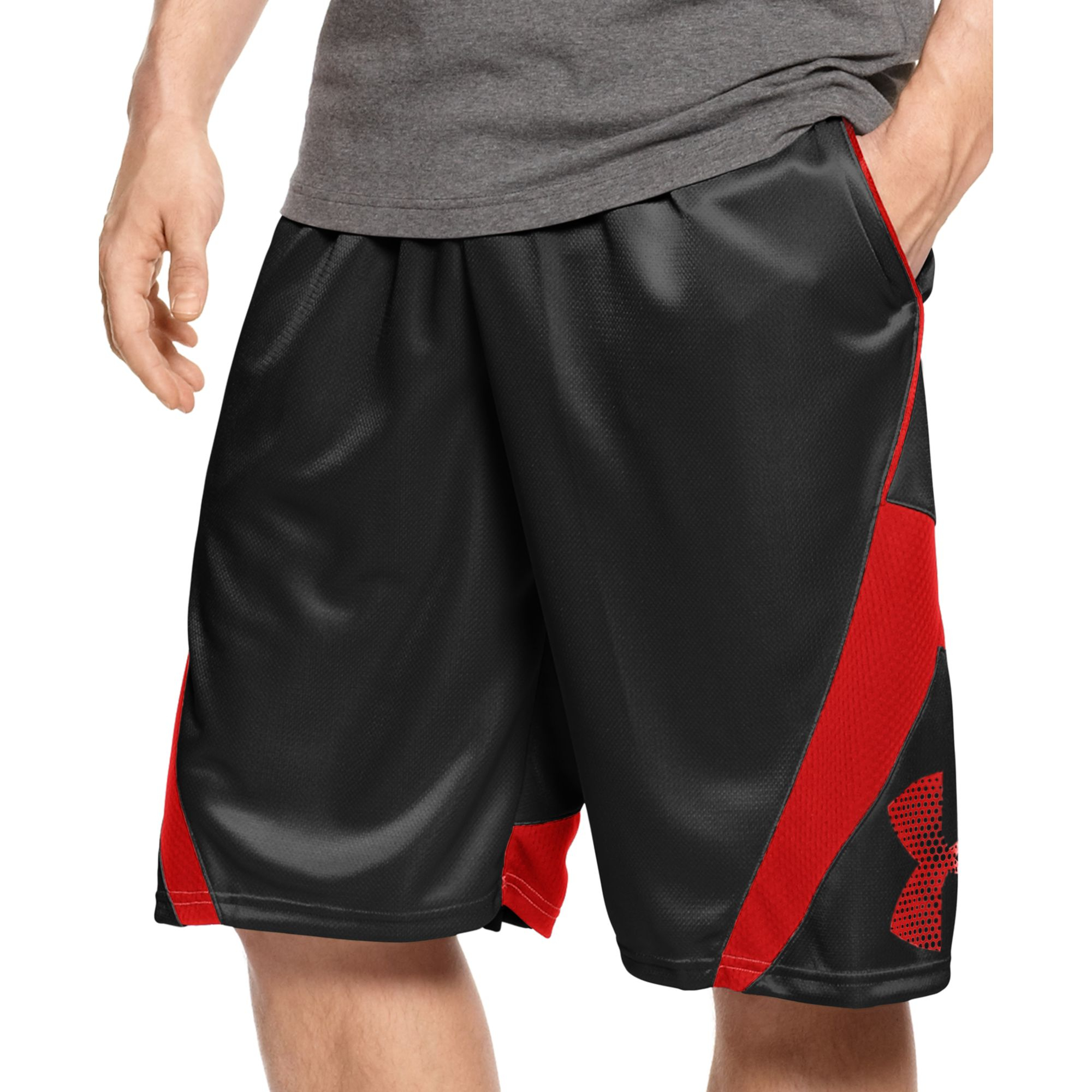 Under armour Ez Monknee 12 Basketball Shorts in Black for ...