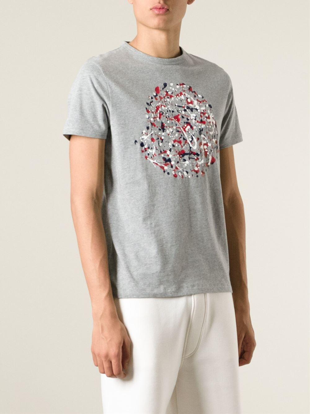 Moncler Paint Splatter T Shirt Esw
