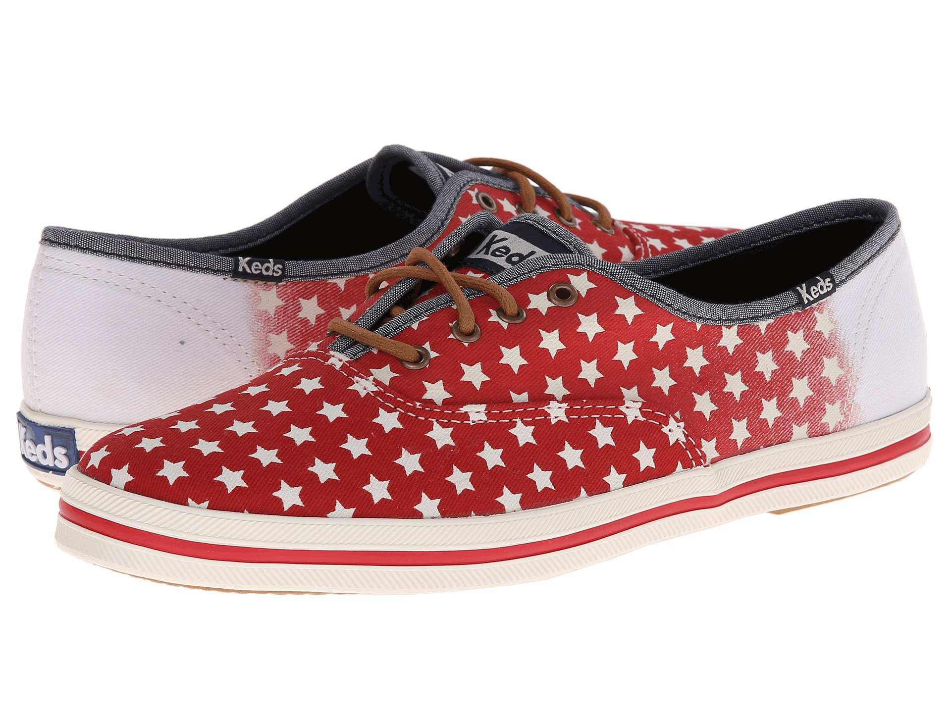 530fc086f14 Lyst - Keds Champion Patriotic in Red