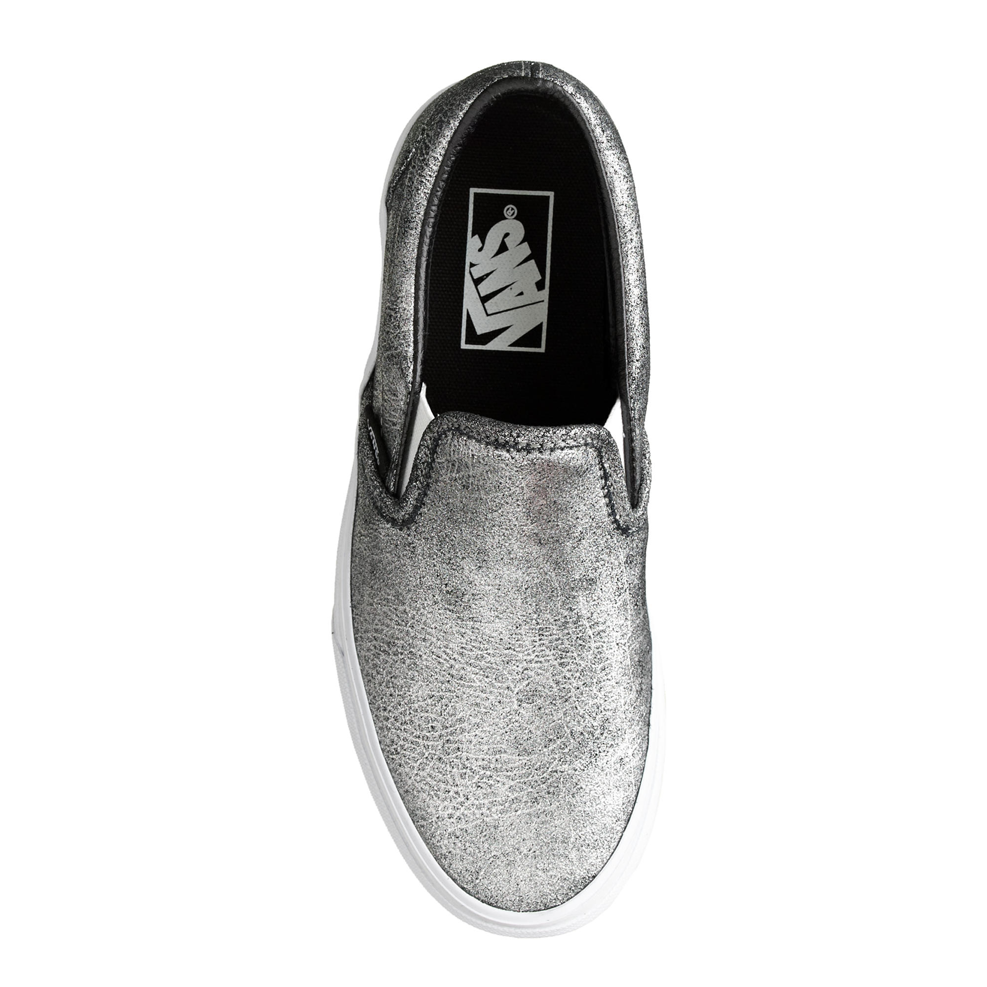 cc802d4f265 Lyst - J.Crew Unisex Vans Classic Slip-on Sneakers In Metallic ...