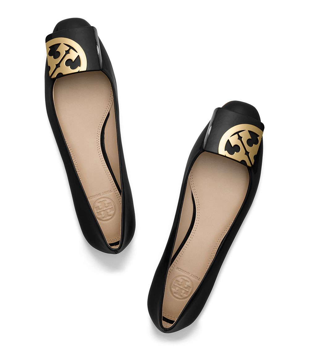 Tory Burch Suede Round-Toe Flats outlet 2014 new great deals online cheap sale 2014 new marketable sale online sale Cheapest RD7S632l