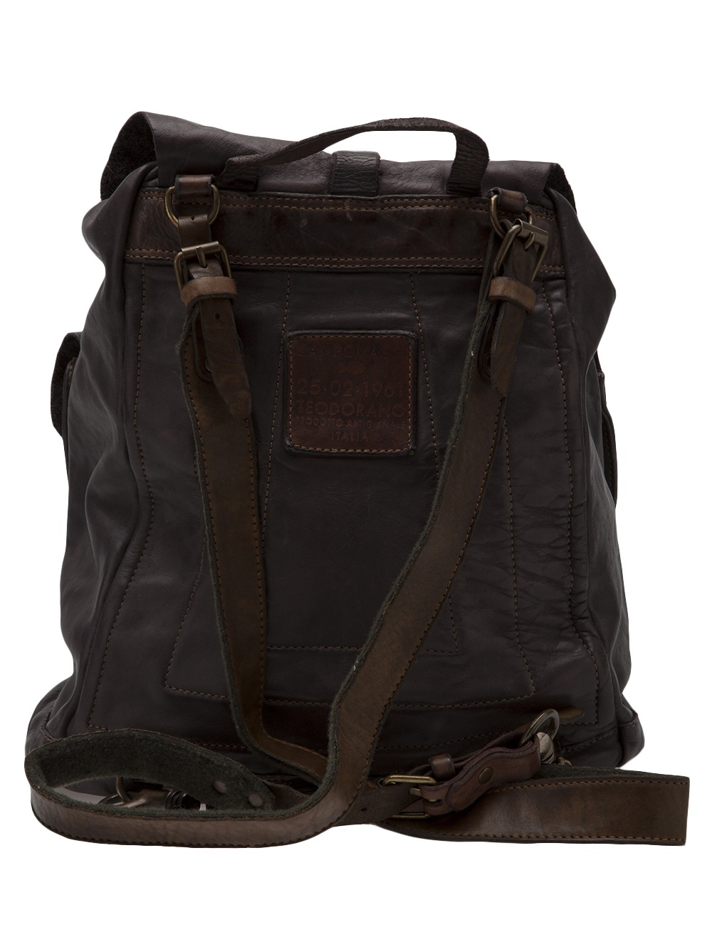 Lyst Campomaggi Drawstring Backpack In Brown