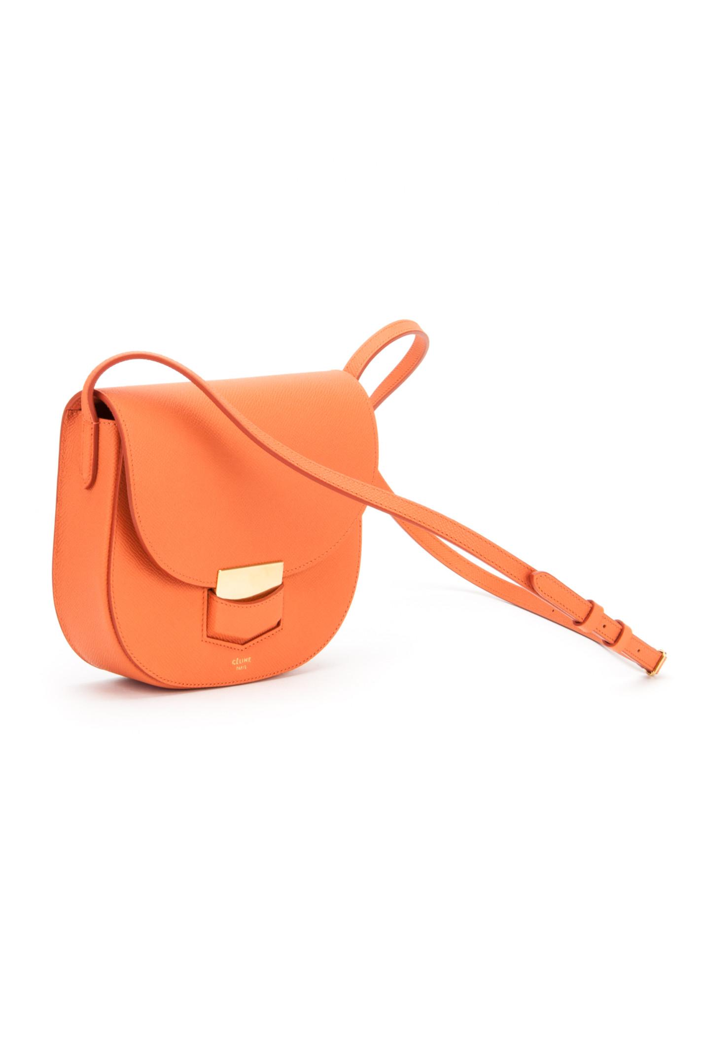 fake celine orange smalls handbag