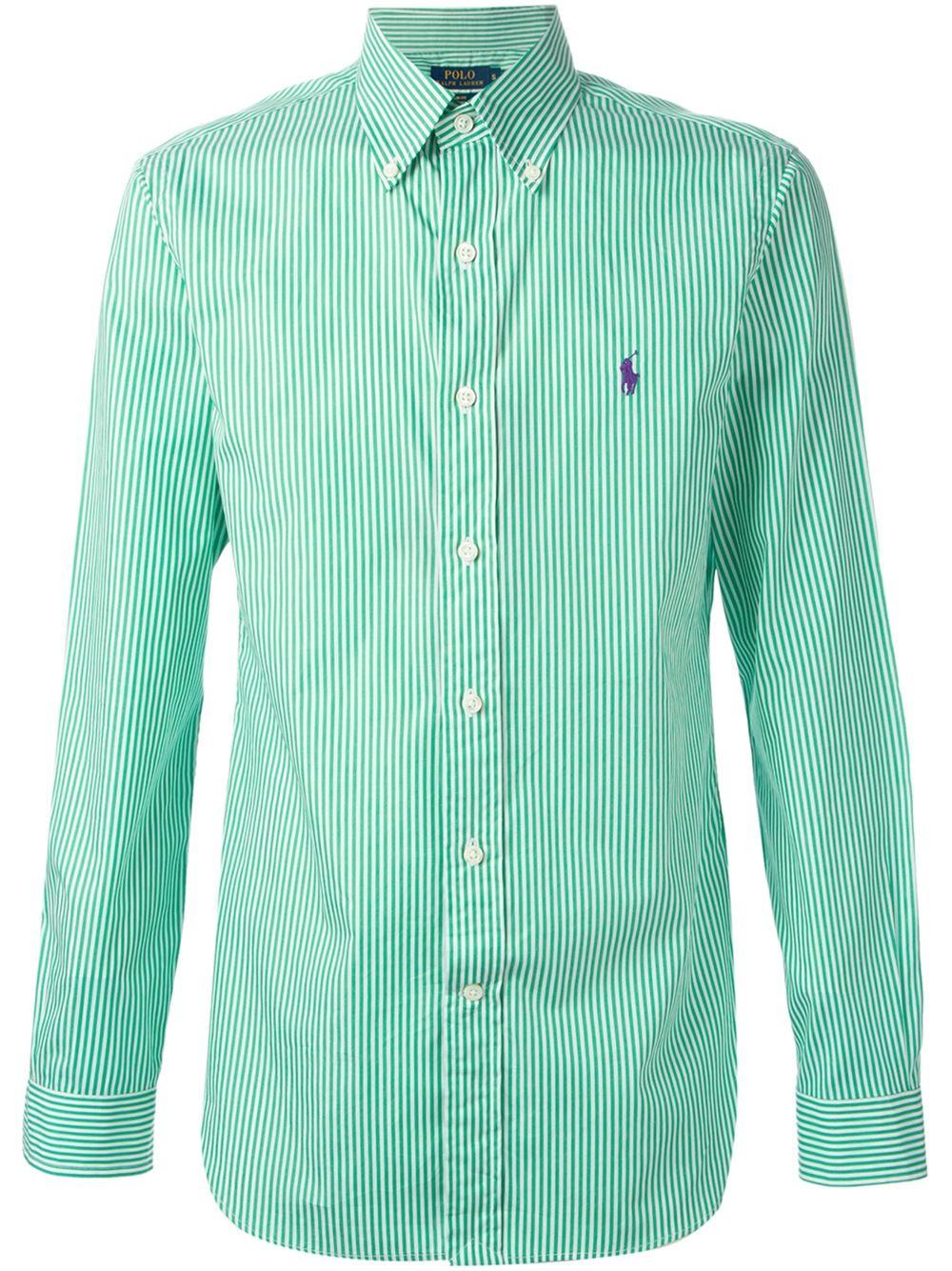 polo ralph lauren button down shirts for men .