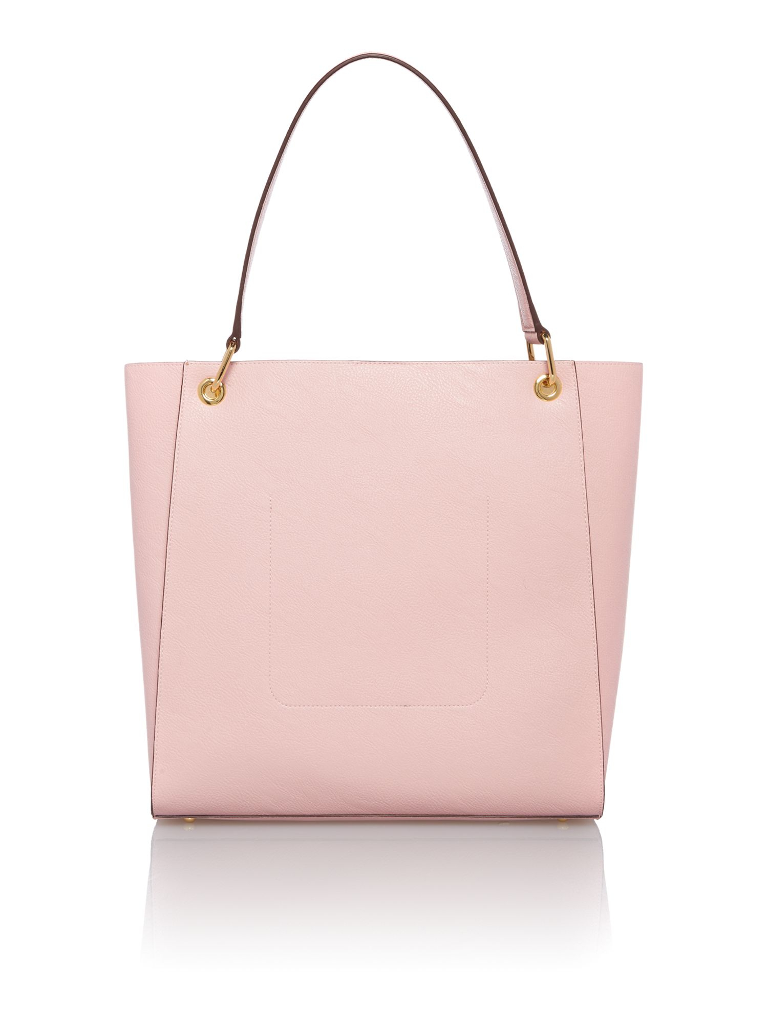 Lauren by ralph lauren Aiden Pale Pink Large Tote Bag in Pink | Lyst