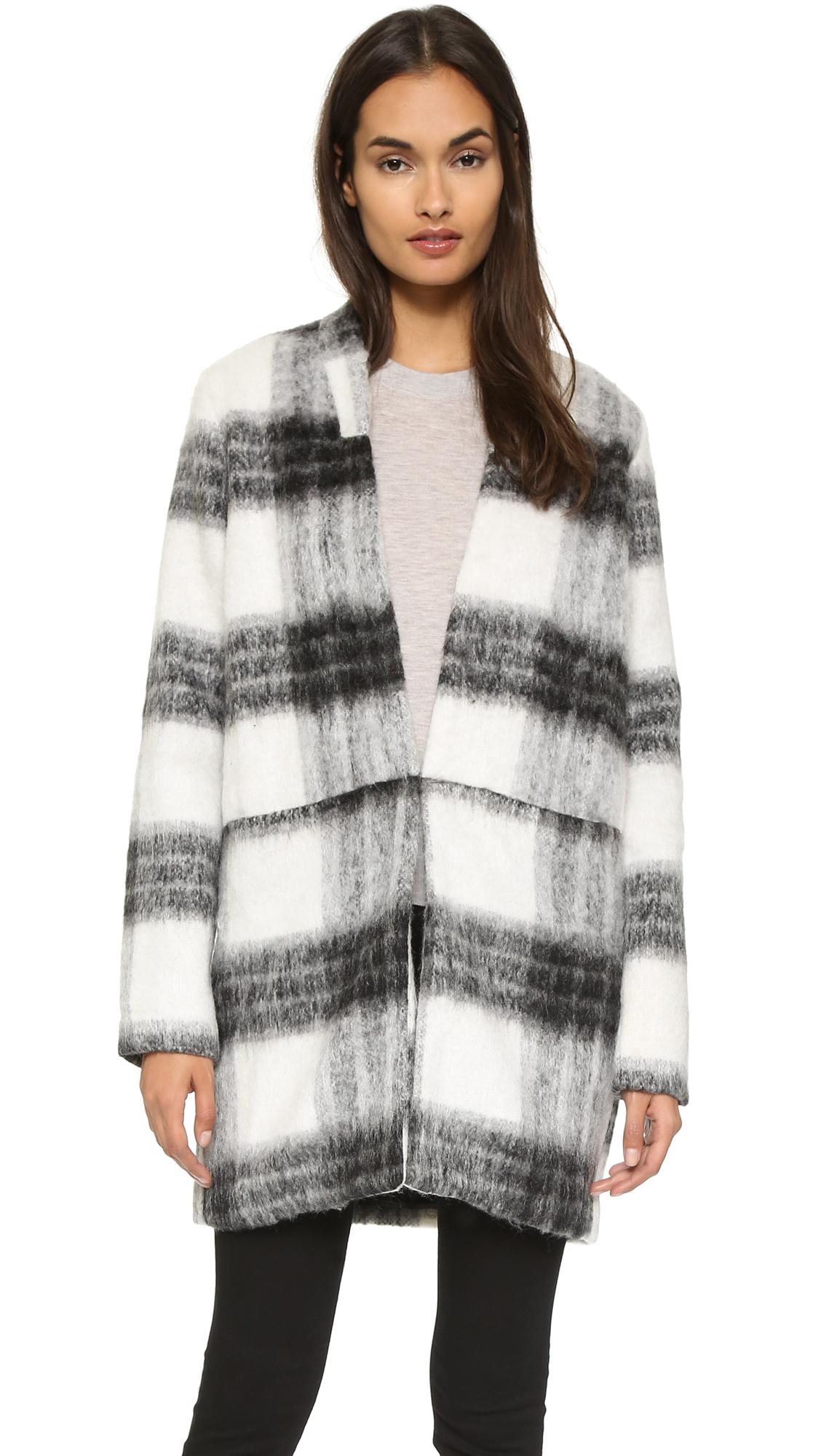 Just female Wool Jacket in Black   Lyst