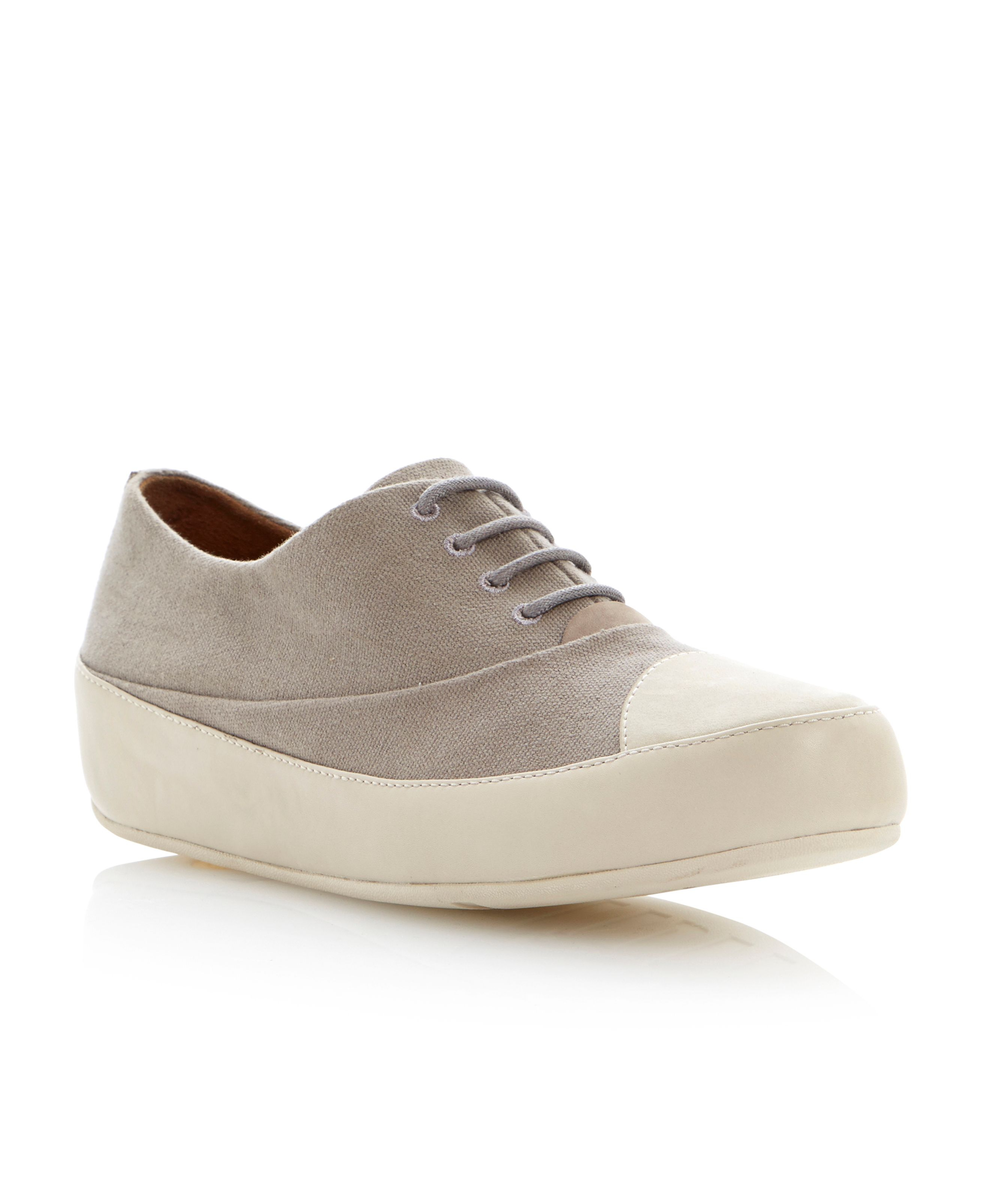 fitflop due oxford canvas
