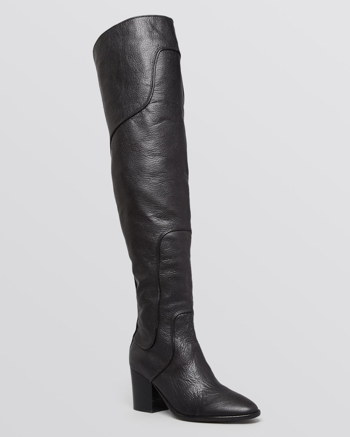 67772be4229 Lyst - Rebecca Minkoff Over The Knee Boots - Blessing in Black