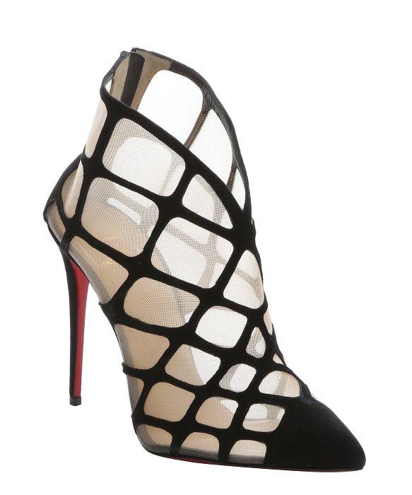 louis vuitton men sneakers - christian louboutin mesh-paneled booties, louboutin roller spikes