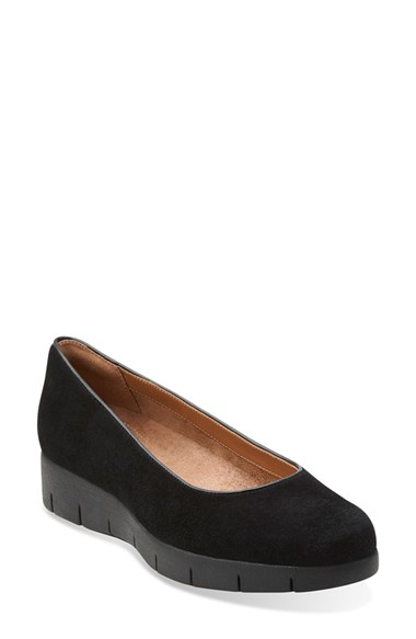 Womens Shoes Clarks Daelyn Towne Black Suede