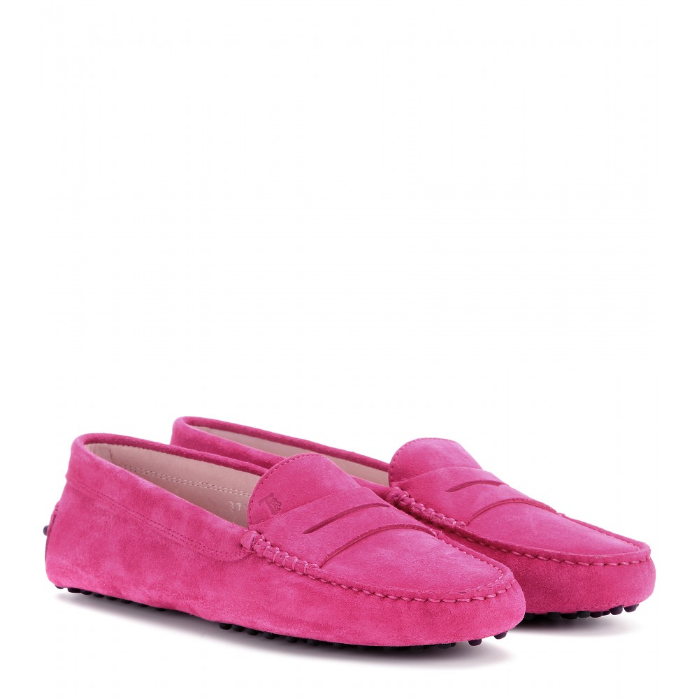 Raspberry Leather Shoes