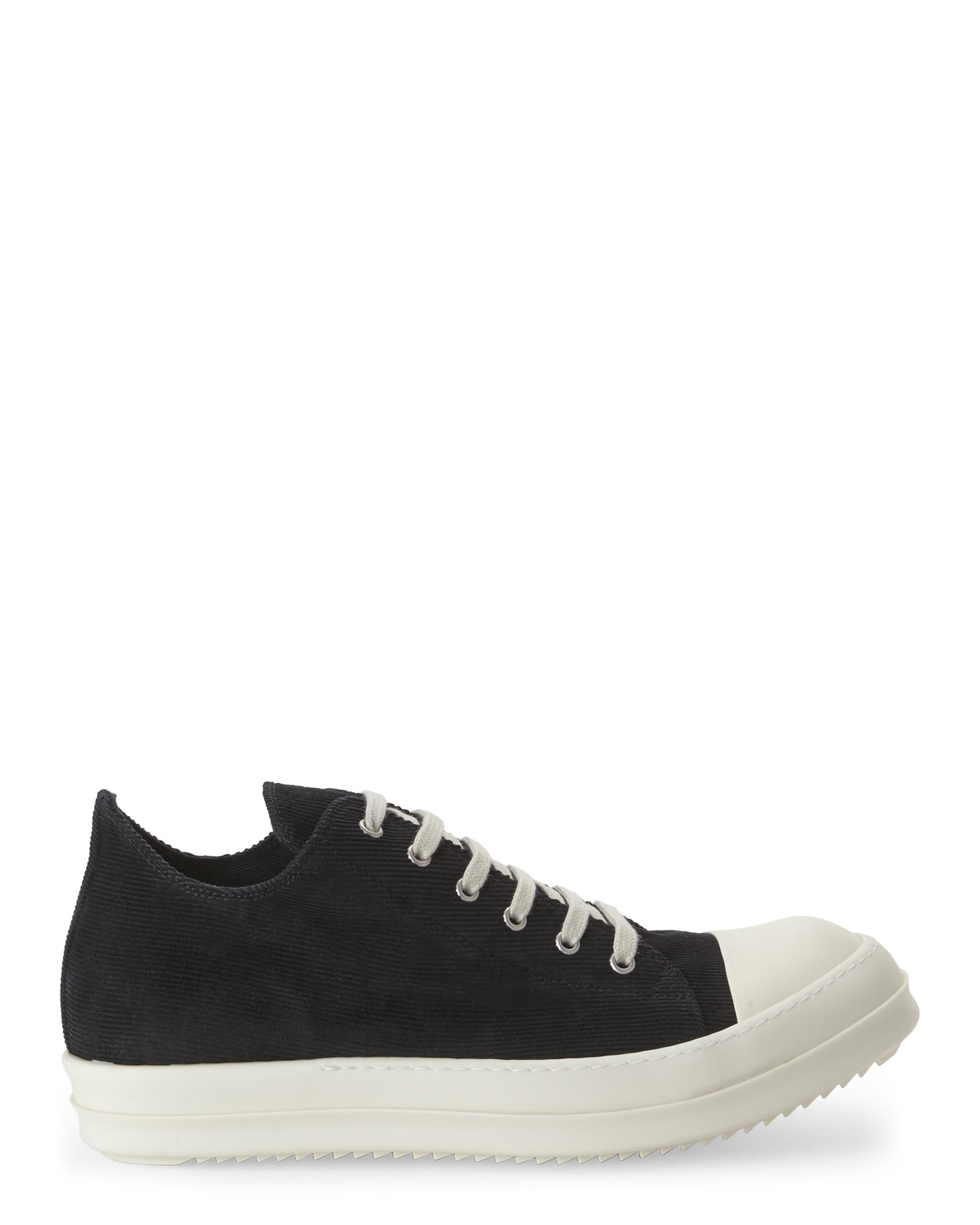 Rick Owens & Off- Canvas Low Sneakers
