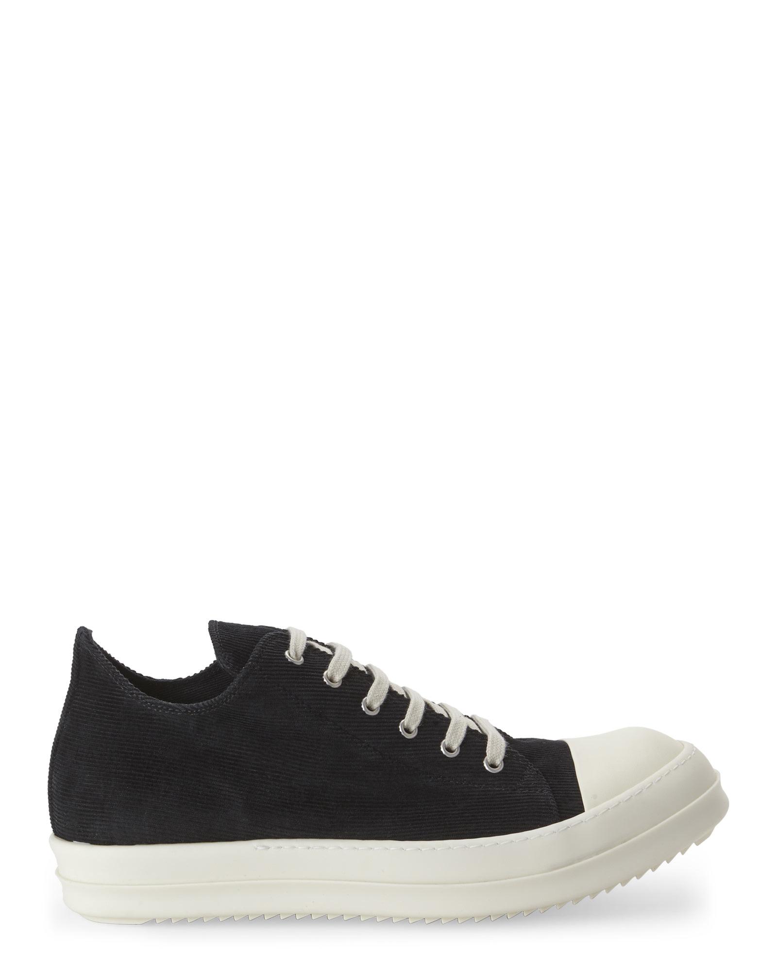 Rick Owens Drkshdw Grey & Off-White Low Sneakers MAUhibU