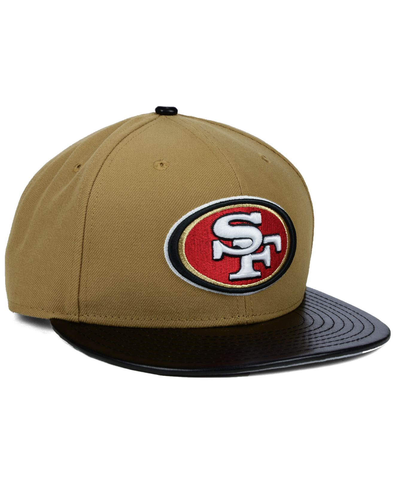 ... discount code for lyst ktz san francisco 49ers faux leather wheat  9fifty snapback 97bcb 8e38d 9a280ab95537