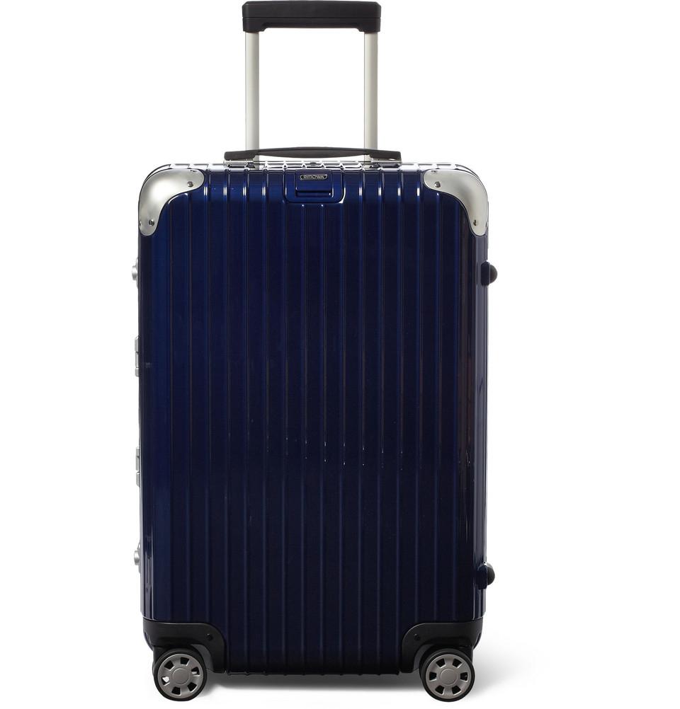 rimowa limbo multiwheel 68cm case in blue for men lyst. Black Bedroom Furniture Sets. Home Design Ideas