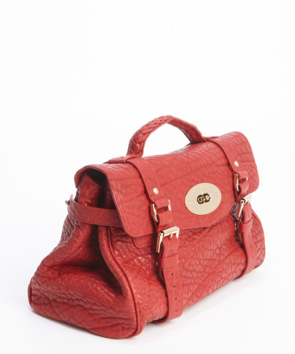2623fbbb69 germany mulberry alexa bag pink 2013 254cf 9cdb1; spain lyst mulberry poppy  red pebbled leather alexa satchel bag in red e4327 e4cc7