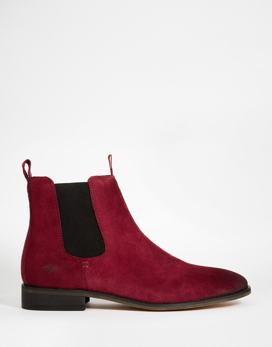 huge selection of 18c68 a6b3e bellfield-red-suede-chelsea-boots-product-2-175700195-normal.jpeg
