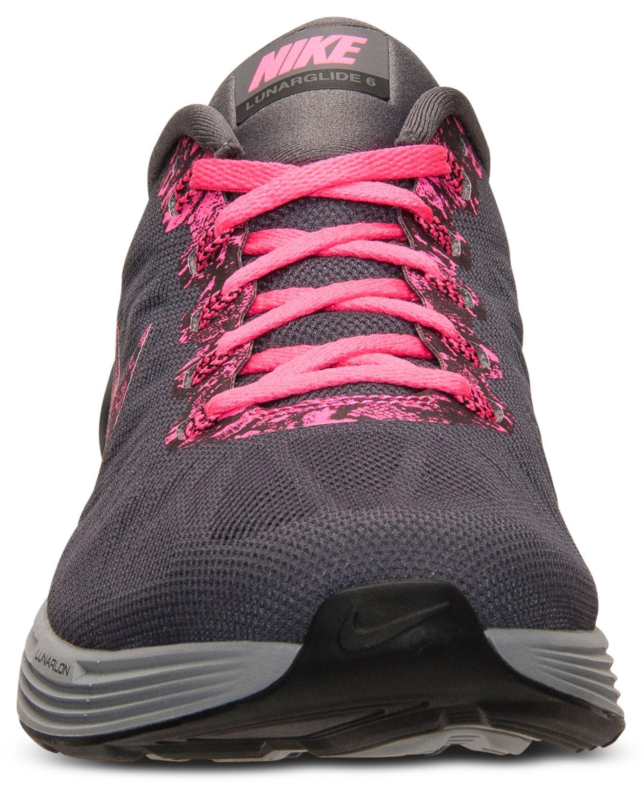 hot sales b5b00 272ee ... release date lyst nike womens lunarglide 6 running sneakers from finish  line 6d3dd 8762c